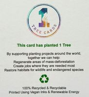 1 Tree Card - New Home